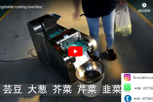 Precautions for the operation of the vegetable washing machine?