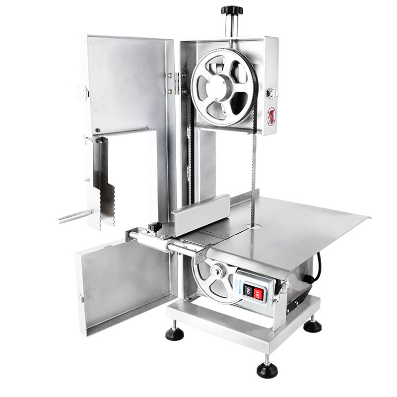 What parts can the bone sawing machine consist of?