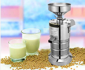 What is the working principle of the soymilk machine?